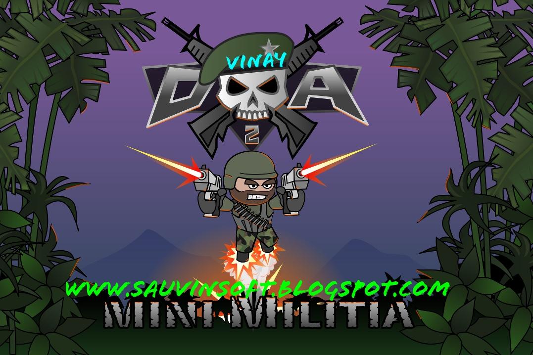 mini militia mod apk download unlimited health