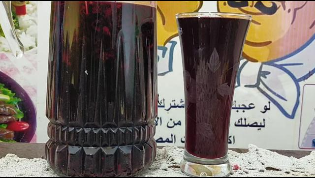 طريقة عمل عصير كركدية طبيعي احسن من الكافتريات الشيف محمد الدخميسي