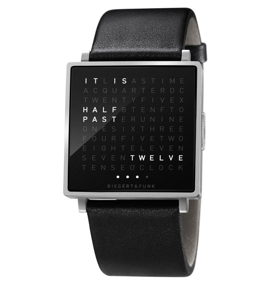 The QLOCKTWO Wristwatch