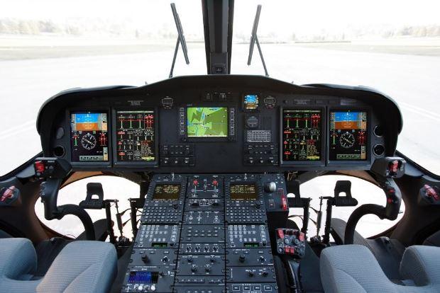AgustaWestland AW139 cockpit