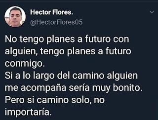 Planes a futuro y amor propio