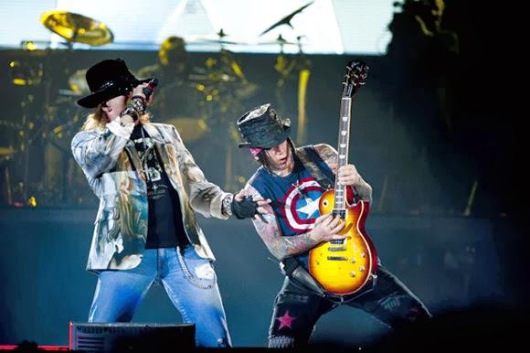 Ingressos Do Show De Guns N Roses Em Fortaleza Variam: PEmais é Mais Pernambuco