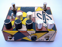 dpFX CHRONOS Dual-Delay w/ Analog modulation, dual settings store