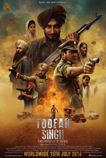 Toofan Singh 2018 Punjabi Movie 720p HDRip 800MB Free Download