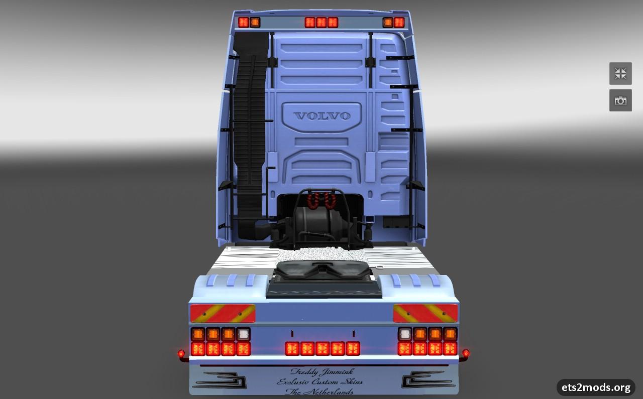 Volvo FH16 Eagle Tuned skin + interior + addons - ETS2 Mods