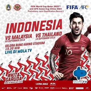 kualifikasi piala dunia 2022 indonesia vs malaysia do parabola