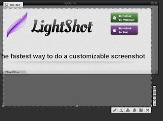 Lightshot — Это бесплатная программа для снимка картинок с экрана