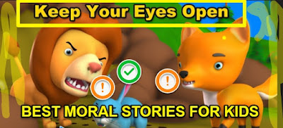 Bedtime stories for kids:KEEP YOUR EYES OPEN
