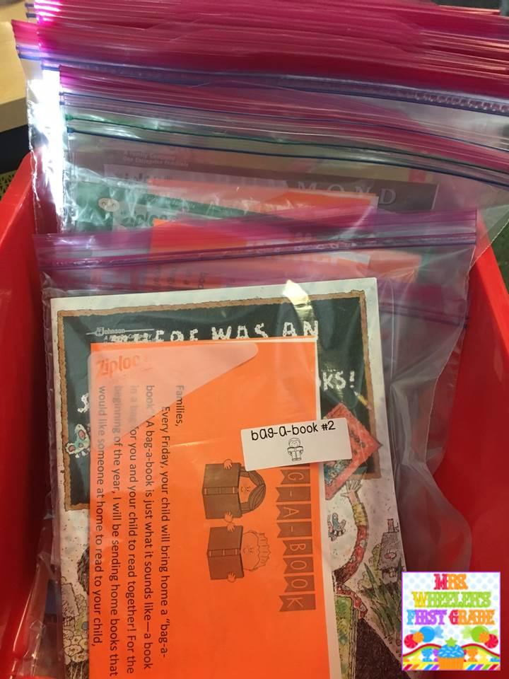 Mrs wheelers first grade tidbits bag a book bag a book publicscrutiny Gallery