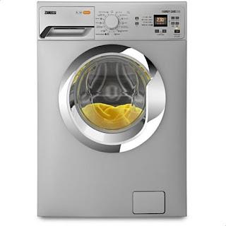 Zanussi Washing Machine Front Loading 6 Kg Silver