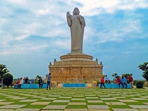 tank bund buddha statue history