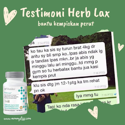 Testimoni Heblax Shaklee Untuk Turunkan Berat Badan