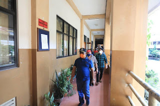 Peninjauan Persiapan Lokasi Karantina Untuk Penanggulangan COVID-19 di Kota Tarakan - Tarakan Info