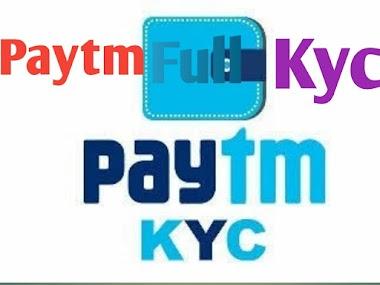 paytm full kyc