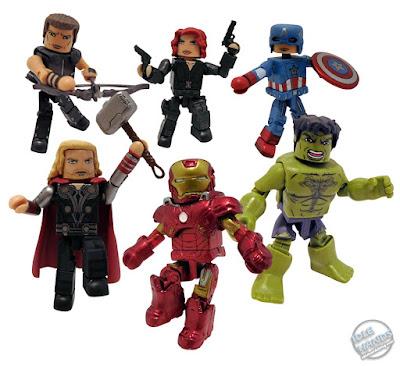 San Diego 2021 Diamond Select Marvel Minimates Avengers Movie Commemorative Gift Set