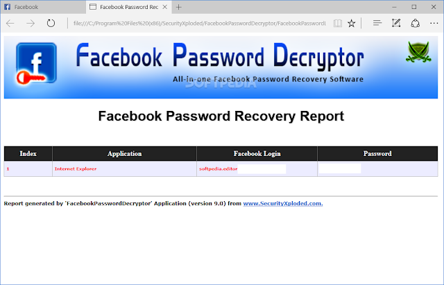 Hack Facebook dengan Masked Password