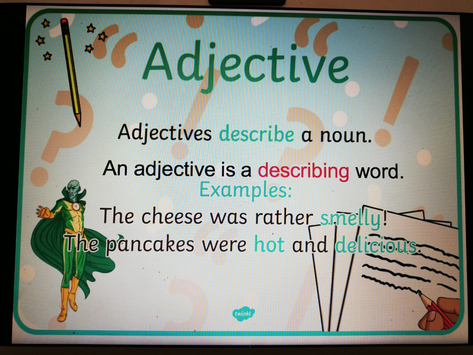We Love Learning Adjectives Third Graders But
