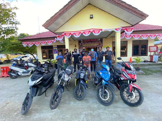 Polisi Ungkap Sindikat Pencurian Bermotor di Kota Jayapura