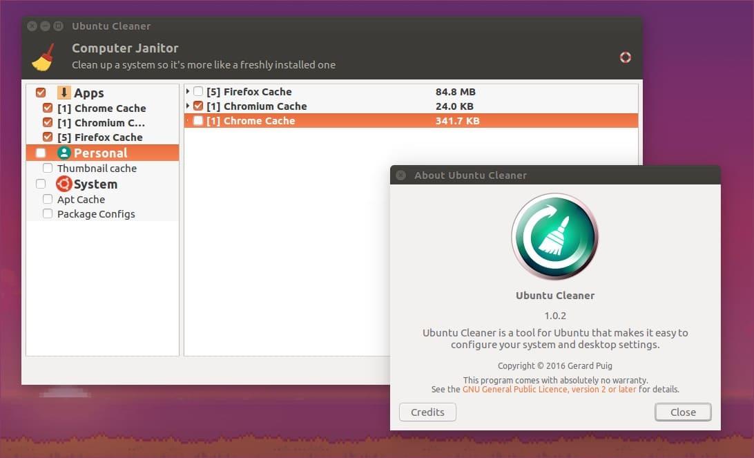 Ubuntu Cleaner (Ferramenta de Manutenção)