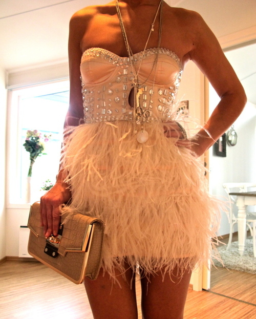 Feather Skirts Everywhere!