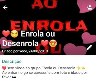 Enrola ou Desenrola - WhatsApp