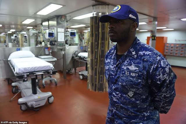Il Coronavirus riporta le navi-ospedali a New York usate dopo gli attacchi dell'11 settembre