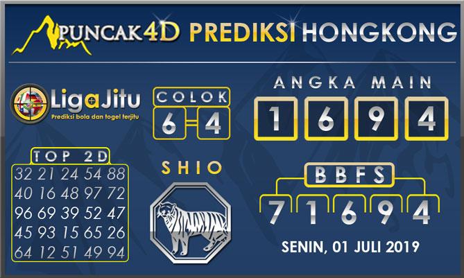 PREDIKSI TOGEL HONGKONG PUNCAK4D 01 JULI 2019