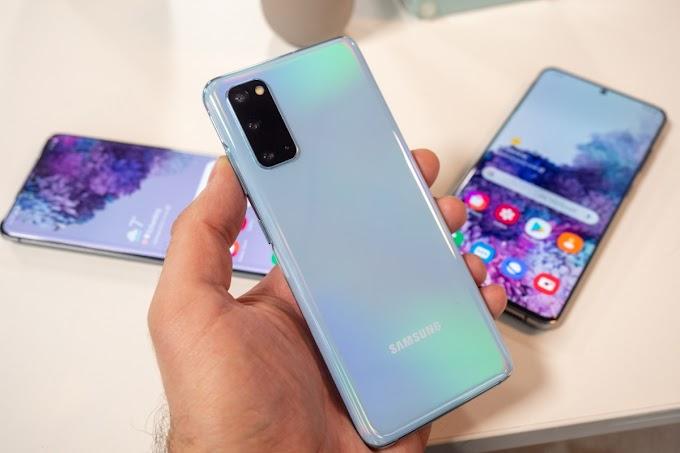 Sorteio de um Smartphone Samsung Galaxy S20