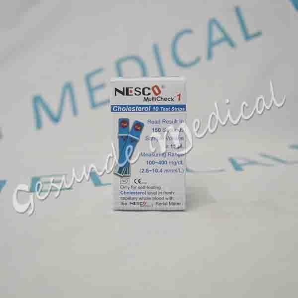 Nesco MultiCheck Blood Cholesterol Tes Strips