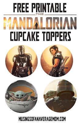 free Mandalorian birthday party printables
