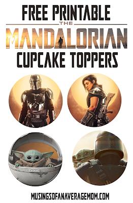 free Mandalorian birthday party printables