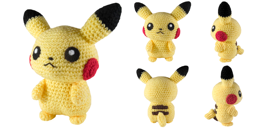 Pikachu » 53stitches » Free Amigurumi and Crochet Patterns and ... | 500x1000
