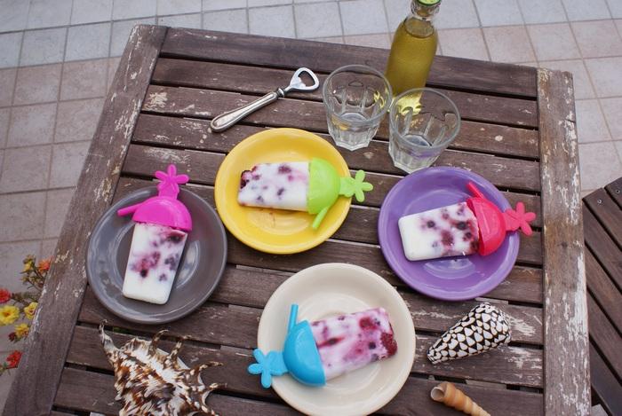 ricetta gelati stecco frutta yogurt