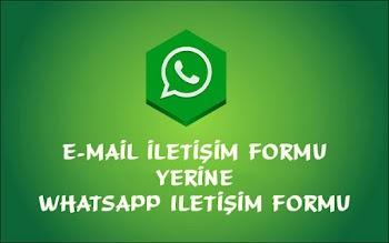 Tek Sayfalık WhatsApp İletisim Formu