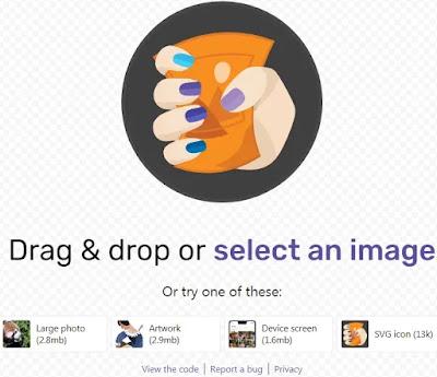 Pada cara kali ini kami akan mengulas tool google yang disebut Squoosh yang berfungsi  Cara kompres gambar dengan google squoosh