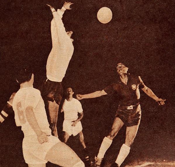Chile y Costa Rica en Campeonato Panamericano 1956, 8 de marzo