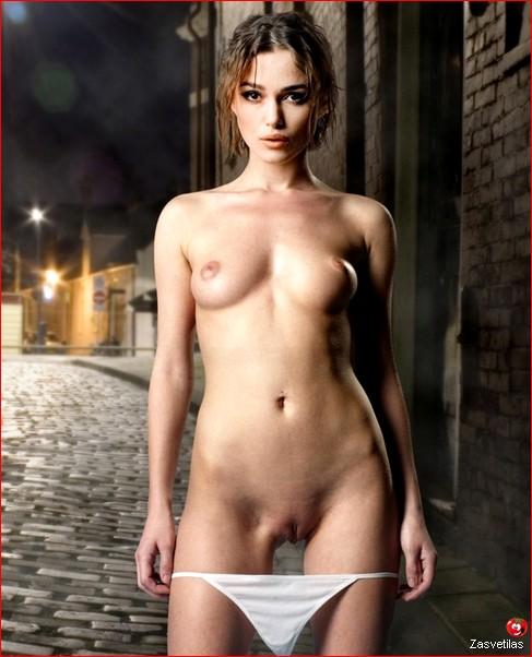 Кира Найтли голая грудь