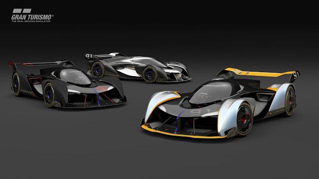 McLaren Gran Turismo Sport Car