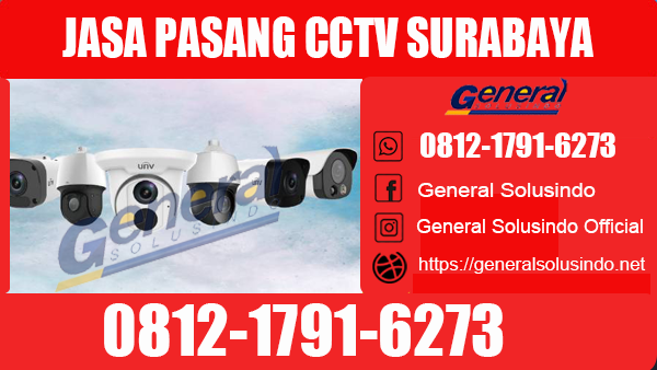 Jasa Pasang CCTV Karang Pilang Surabaya