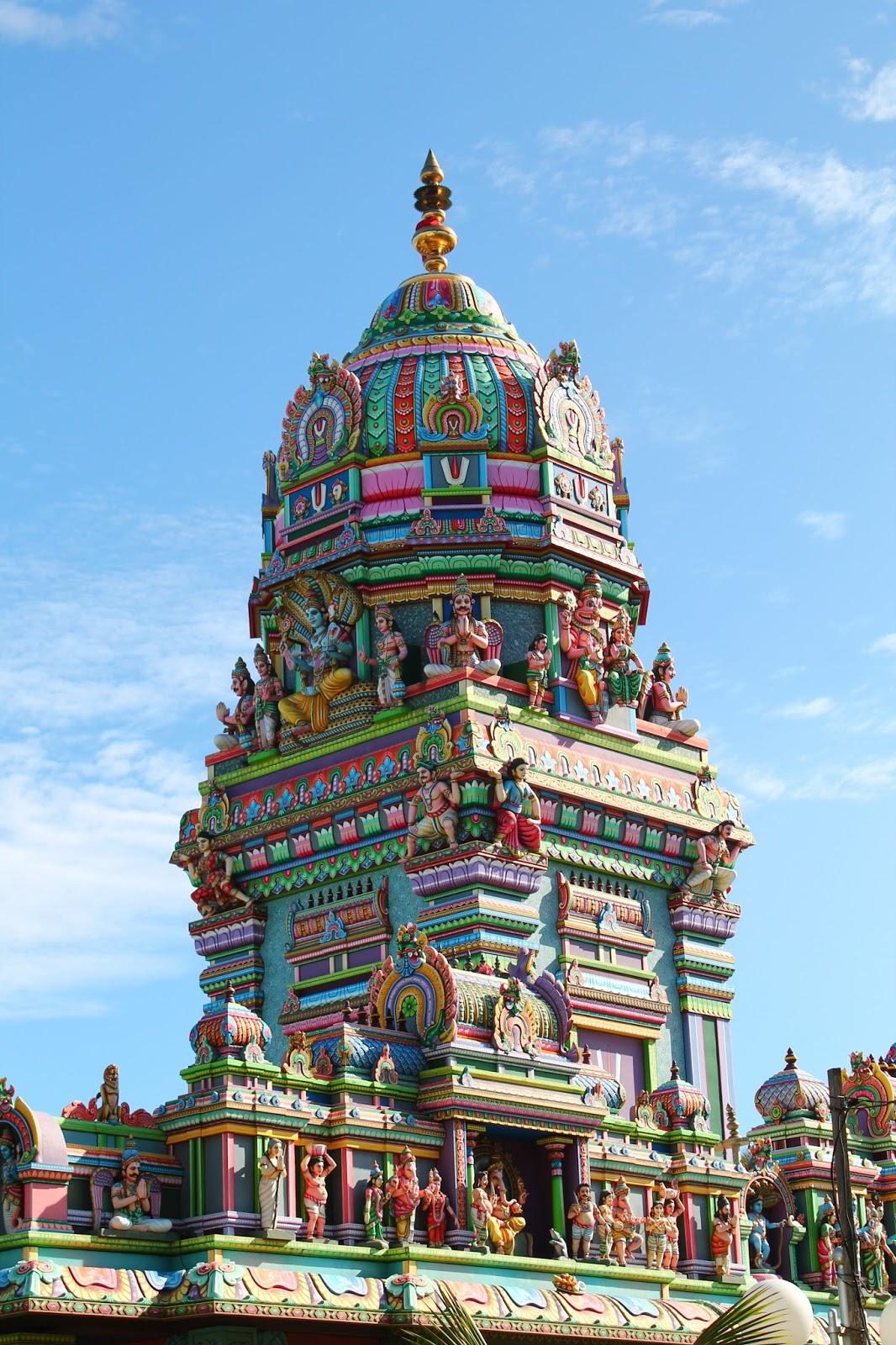 ile de la réunion temple tamoul Narassingua Perournal de Saint-Pierre