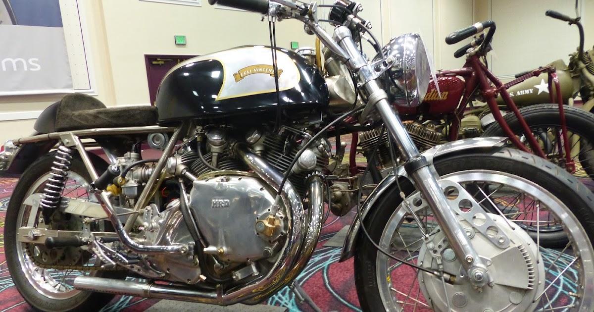 Evel Knievel Bike At Bonham S Las Vegas Moto Auction: OldMotoDude: 1948 Egli Vincent Sold For $69,575 At The
