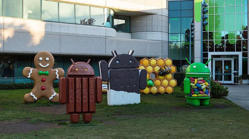 памятники андроиду