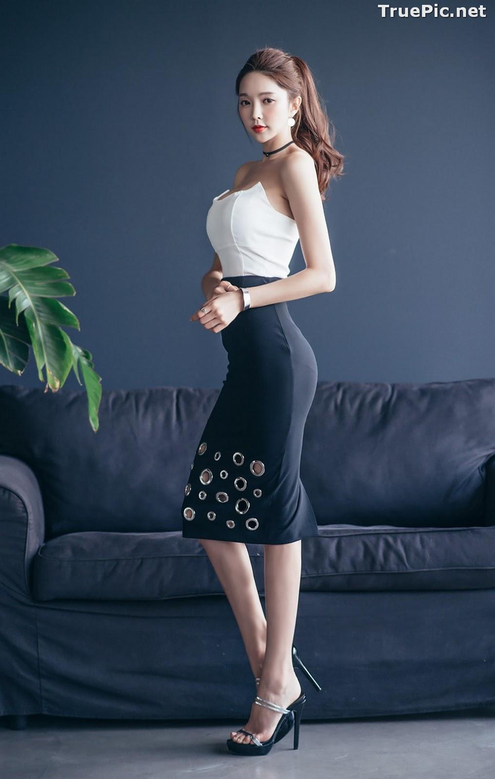 Image Korean Beautiful Model – Park Soo Yeon – Fashion Photography #3 - TruePic.net - Picture-6