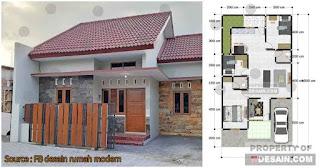 Desain Rumah Minimalis 8x15