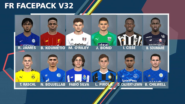 PES 2017 FR Facepack V32 by FR Facemaker