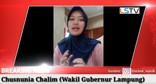 "Himbauan Wagub Lampung, ""Jangan Mudik Untuk Keselamatan dan Kesehatan Kita Semua"""