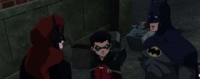 Alfred kebingungan dan meminta Nightwing menggantikan Batman sementara Sinopsis Film : Batman: Bad Blood (2016)