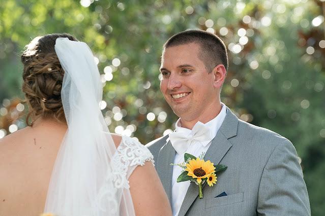 Groom overjoyed looking at Bride Magnolia Manor Wedding Photos by Stuart Wedding Photographer Heather Houghton Photography