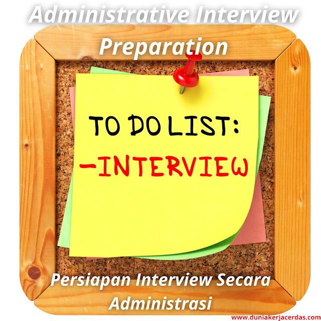Administrative Interview Preparation