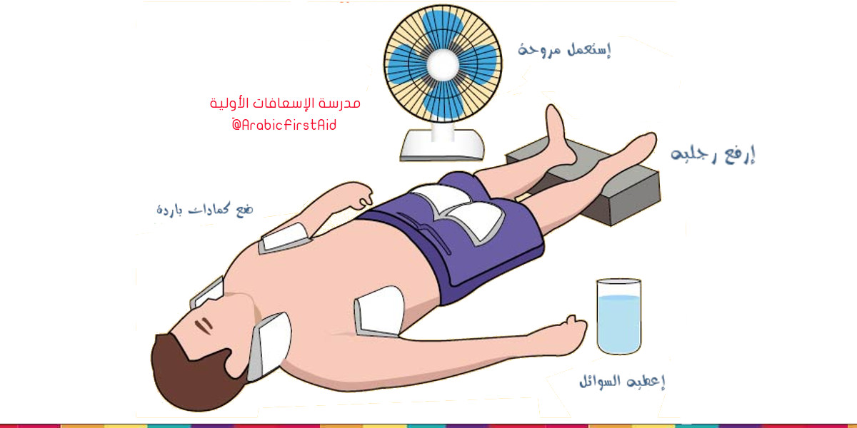 First-aid-heat-stroke
